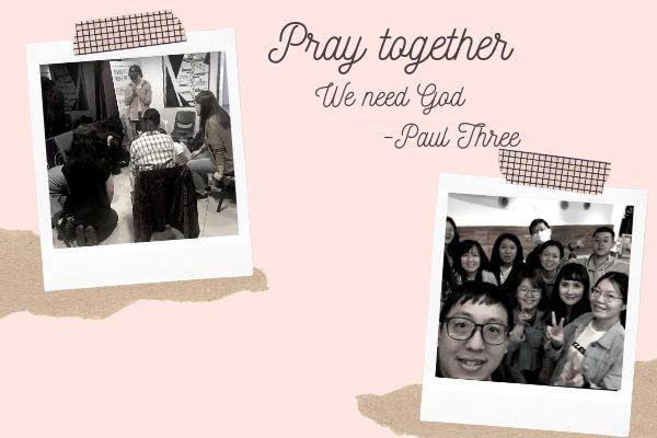 Pray together!